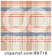 Royalty Free RF Clipart Illustration Of A Seamless Plaid Pattern Background Version 3