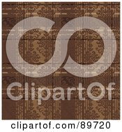 Royalty Free RF Clipart Illustration Of A Seamless Plaid Pattern Background Version 1