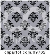 Royalty Free RF Clipart Illustration Of A Seamless Crest Pattern Background Version 1