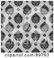 Royalty Free RF Clipart Illustration Of A Seamless Crest Pattern Background Version 9