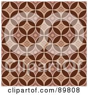 Royalty Free RF Clipart Illustration Of A Seamless Diamond Pattern Background Version 3