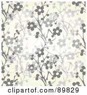Royalty Free RF Clipart Illustration Of A Seamless Daisy Pattern Background Version 2 by BestVector
