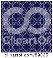 Royalty Free RF Clipart Illustration Of A Seamless Crest Pattern Background Version 7