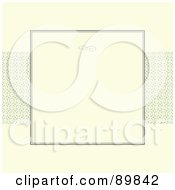 Royalty Free RF Clipart Illustration Of An Invitation Border And Frame With Copyspace Version 2