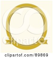 Royalty Free RF Clipart Illustration Of An Invitation Border And Frame With Copyspace Version 5