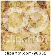 Royalty Free RF Clipart Illustration Of A Grungy Brown Texture Background