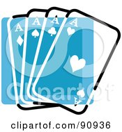 Blue Playing Card App Icon