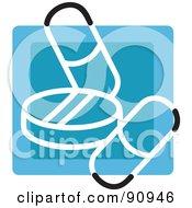 Blue Medication App Icon