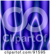 Royalty Free RF Clipart Illustration Of A Blue Or Purple Flame Texture Background by Arena Creative