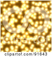 Royalty Free RF Clipart Illustration Of A Bright Golden Light Background