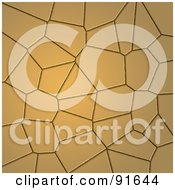 Royalty Free RF Clipart Illustration Of A Cracking Mud Background