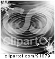 Royalty Free RF Clipart Illustration Of An Electrical Rippling Water Background