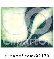 Royalty Free RF Clipart Illustration Of A Background Of Grungy Green Swooshes