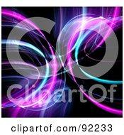 Royalty Free RF Clipart Illustration Of A Fractal Design Background 51