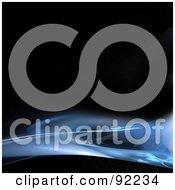Royalty Free RF Clipart Illustration Of A Fractal Design Background 52