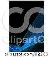 Royalty Free RF Clipart Illustration Of A Fractal Design Background 54