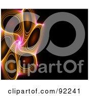 Royalty Free RF Clipart Illustration Of A Fractal Design Background 59