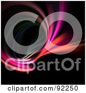 Royalty Free RF Clipart Illustration Of A Fractal Design Background 68