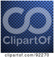 Royalty Free RF Clipart Illustration Of A Carbon Fiber Background Texture 6