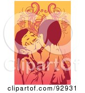 Royalty Free RF Clipart Illustration Of A Mom And Child 30 by mayawizard101