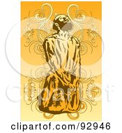 Royalty Free RF Clipart Illustration Of A Sasana Man 3