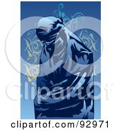 Royalty Free RF Clipart Illustration Of A Sasana Woman 1