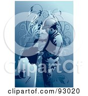Royalty Free RF Clipart Illustration Of A Construction Worker Guy 11 by mayawizard101