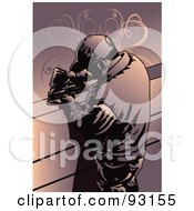 Royalty Free RF Clipart Illustration Of A Construction Worker Guy 3 by mayawizard101