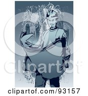 Royalty Free RF Clipart Illustration Of A Construction Worker Guy 5
