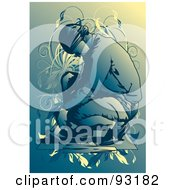 Royalty Free RF Clipart Illustration Of A Construction Worker 14 by mayawizard101