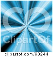 Royalty Free RF Clipart Illustration Of A Shiny Blue Vortex Of Light by Arena Creative