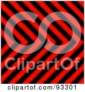 Royalty Free RF Clipart Illustration Of A Red And Black Zig Zag Hazard Stripes Background