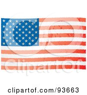 Distressed Aged USA Flag by michaeltravers