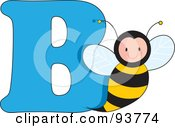B Is For Bee Learn The Alphabet Scene