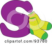 S Is For Socks Learn The Alphabet Scene