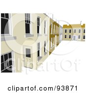Royalty Free RF Clipart Illustration Of A Building Exterior 14 by toonster