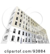 Royalty Free RF Clipart Illustration Of A Building Exterior 13 by toonster