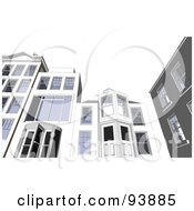 Royalty Free RF Clipart Illustration Of A Building Exterior 10 by toonster #COLLC93885-0117