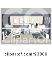 Modern Home Interior Layout 1