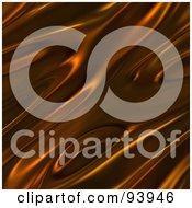 Royalty Free RF Clipart Illustration Of A Rippling Chocolate Background 1