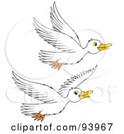 Royalty-Free (RF) Goose Clipart, Illustrations, Vector Graphics #3