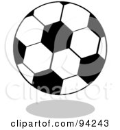 Standard Cartoon Soccer Ball