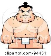 Hulky Sumo Wrestler