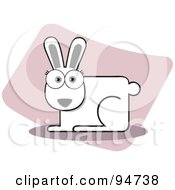Royalty Free RF Clipart Illustration Of A Square Bodied Hare by Qiun
