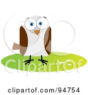 Royalty Free RF Clipart Illustration Of A Square Bodied Wild Bird