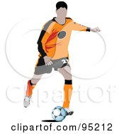 Soccer Athlete 4 by leonid