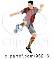 Soccer Athlete 3 by leonid