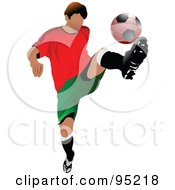 Soccer Athlete 1 by leonid