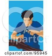 Poster, Art Print Of Man Of Carpentry