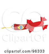 Colorful Kite Flying In The Wind 7